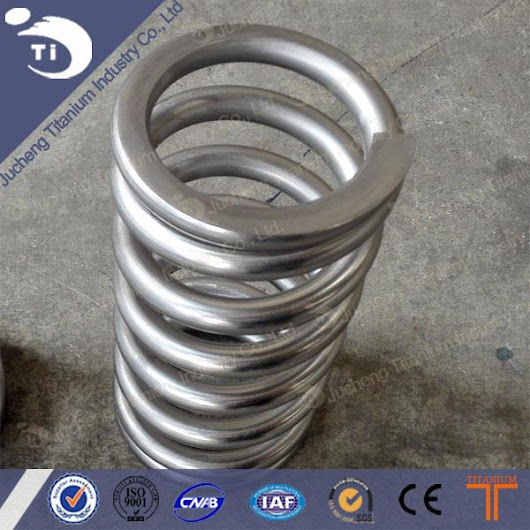 China Gr5 Titanium Spring Dia11 Manufacturers, Suppliers, Factory, Wholesale - Products - Baoji Jucheng Titanium Industry Co.,Ltd