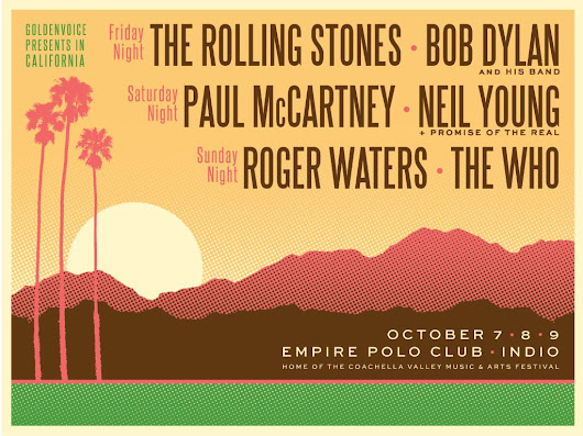 Desert Trip Festival Kicks Off Today in Indio, CA