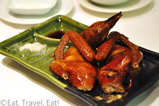 Zen Chinese Cuisine,Hong Kong- Roasted Pigeon