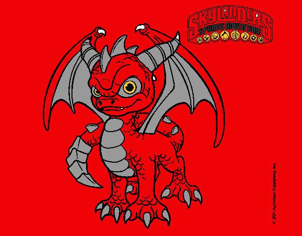 Dibujo De Dragon Demonio Pintado Por Chido En Dibujos Net El Dia 03