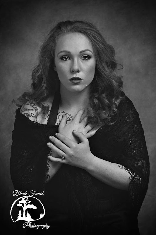 Colorado Springs Couture Female Portrait Photography