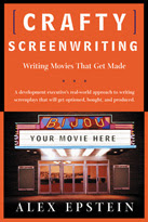 Crafty Screenwriting Book Cover