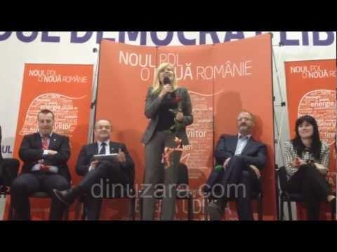 VIDEO| În absenţa lui Flutur, Elena Udrea a obţinut promisiuni de voturi de la Suceava