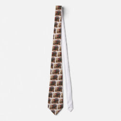 Vintage Someone Mention Tofu Bird Tie tie