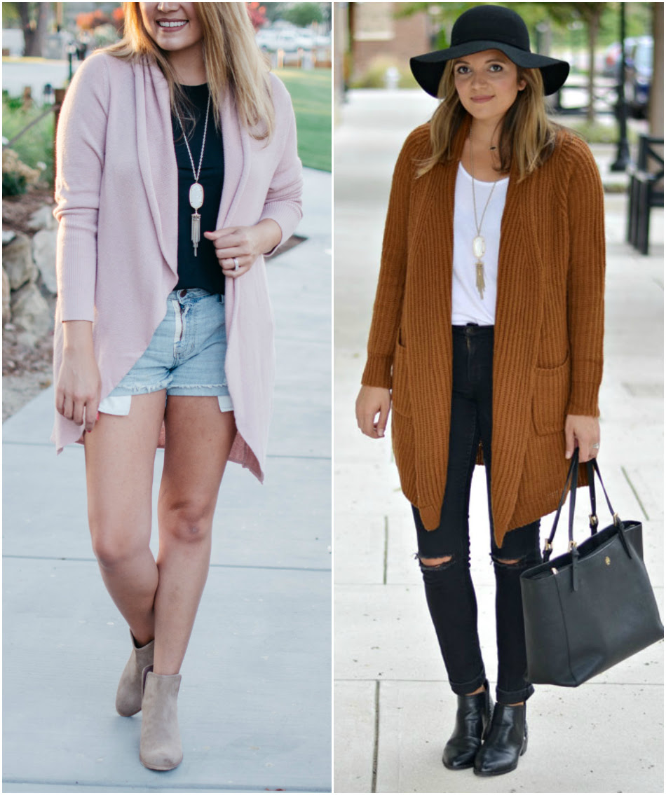 five must-have pieces for fall - long cardigan outfits  By Lauren M