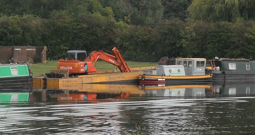 Tug and barge - Starboard side