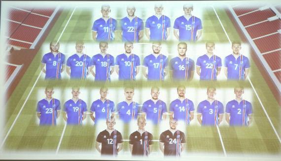 冰岛公布欧洲杯23人大名单