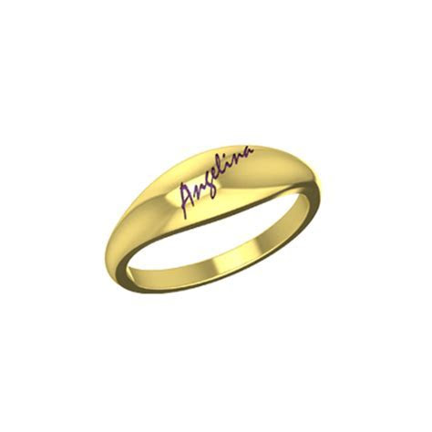 Gold Wedding Rings With Names Engraved   AuGrav.com