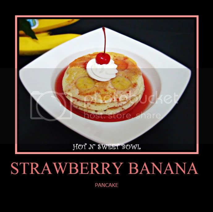 Strawberry Banana Pancake