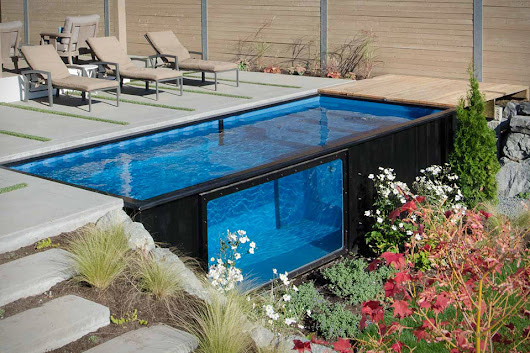 Are Shipping Containers the Future of Swimming Pools?