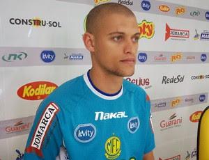 Zagueiro Lázaro, reforço do Mirassol (Foto: Vinicius de Paula / Agência Mirassol FC)