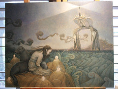 WIP Sea Lion Dream - Paint 4