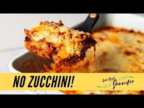Keto Lasagna from Recipes with Jennifer - What Danny Vic is Watching #5