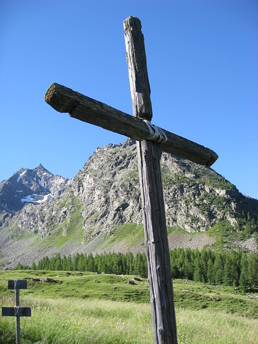 la croce al Plan de la Feye