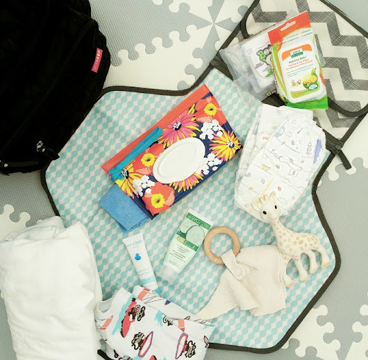 Diaper Bag Essentials For The First Year - Elaine Loves