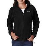 Columbia 6439 Women's Benton Springs Full-Zip Fleece Jacket in Black