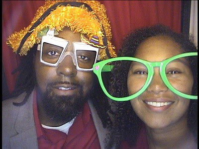 Kim & Charles DeShay III Wedding Photobooth