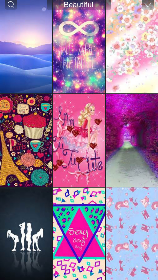 Girly Wallpapers HD - Beautiful Pink Fairy & Girly Images for Girls Home & Lock Screen Free (ios)