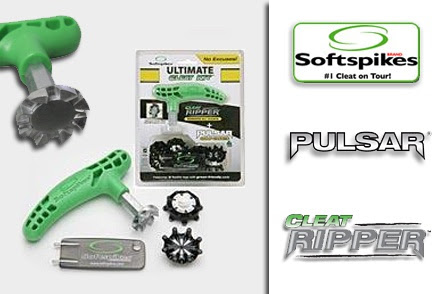$13 for One Softspikes Ultimate Cleat Kit with Cleat Ripper and Pulsar Golf Cleats ($26 Value. Free Shipping!)