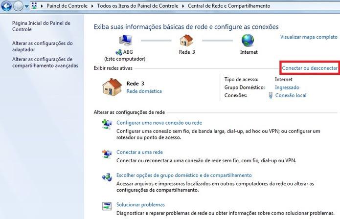 Obtenção de novo endereço de IP para o computador (Foto: Reprodução/Marcela Vaz) (Foto: Obtenção de novo endereço de IP para o computador (Foto: Reprodução/Marcela Vaz))