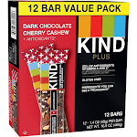 KIND Dark Cherry - 12ct, snack and nutrition bars