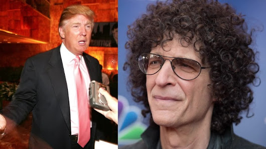 Howard Stern: Trump wants to be loved, presidency will be 'detrimental' to his mental health