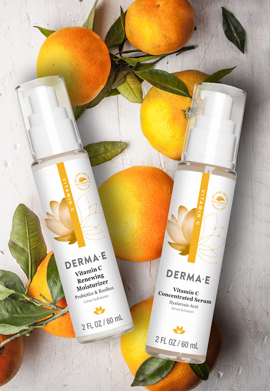 Try Our NEW Vitamin C Renewing Moisturizer & Concentrated Serum