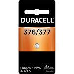 Duracell 377 Silver Oxide Batteries 1 Each