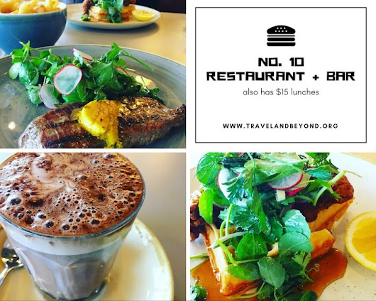 No 10 Restaurant and Bar - A Review