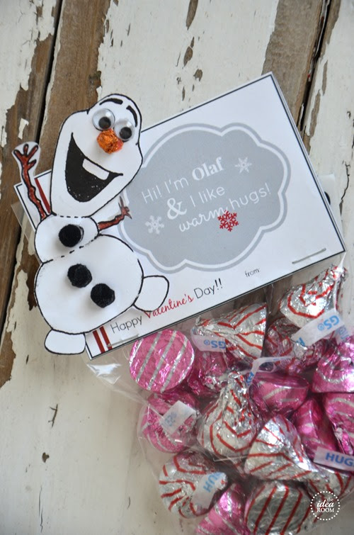 Frozen Olaf Valentine's Printables - The Idea Room