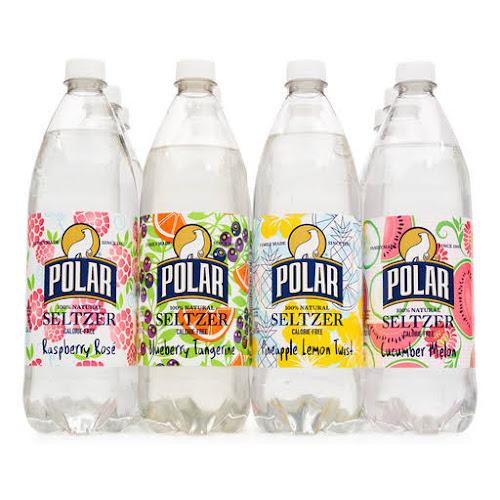 Polar 100% Natural Seltzer Water Variety Pack - 12 pack, 33.8 fl oz bottles