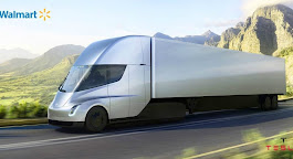 Walmart is one of the first to pre-order the new Tesla electric tractor trailer