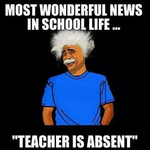 The Wonderful News In School Life Funny Images Photos