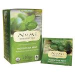 Numi Organic Tea Herbal Teasan - Moroccan Mint | 18 Bags