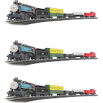 Bachmann Trains Chessie Special Coal 1:87 Ho Scale Model Train Set (3 Pack) by VM Express