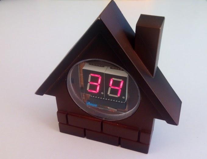 #60 Φτιάξε το δικό σου Arduino θερμόμετρο με 7 Segment Displays