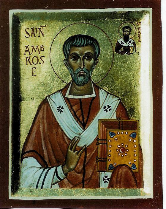 img ST. AMBROSE, the Bishop of Milan