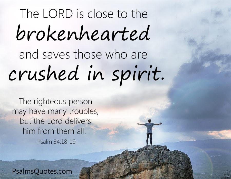 Psalms For Healing Bible Verses