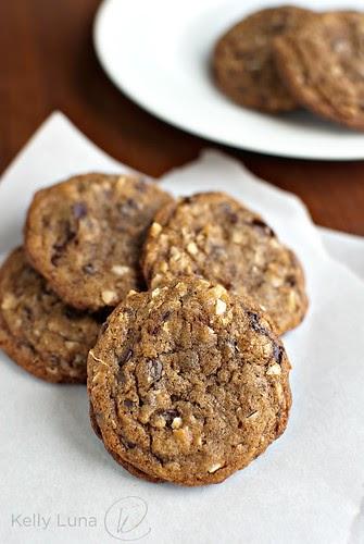 Kelly Luna Chocolate Chip Coconut Coffee Cookies