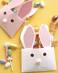 Paper Envelope Rabbits
