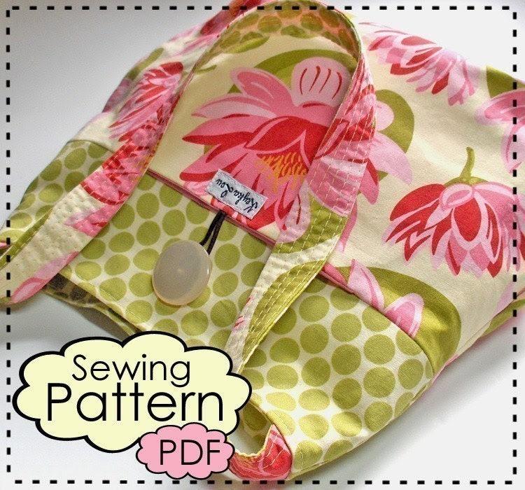 City Tote PDF Sewing Pattern