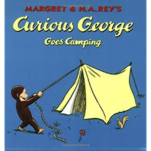 Curious George Goes Camping [With CD] (Curious George - Level 1)