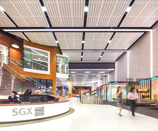 Contemporary new look for Singapore Stock Exchange - Adelto