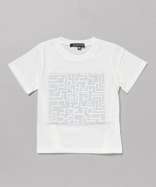 Chubbygangチャビーギャングの迷路プリント半袖tシャツtシャツ