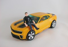 Transformers Bumblebee Human Alliance RotF - modo alterno