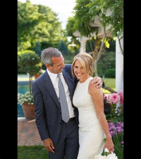 Katie Couric is a beaming bride following her wedding to