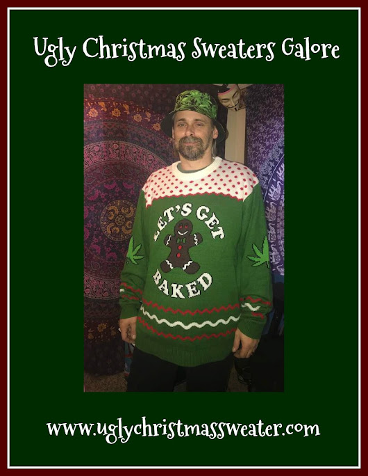 Grab the Best Ugly Christmas Sweaters of the Season from UglyChristmasSweater.con #Partner