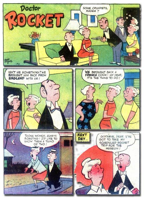 My Greatest Adventure #21- Doctor Rocket (1)
