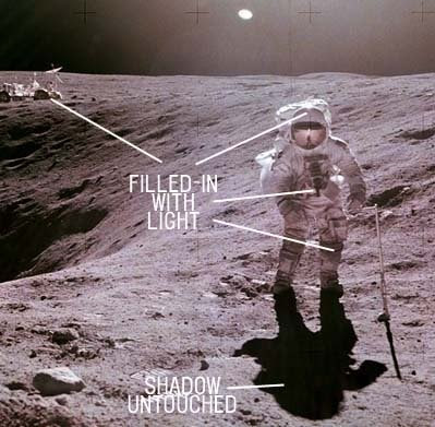 hoax on the moon