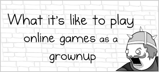 What it's like to play online games as a grownup - The Oatmeal